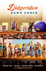 Didgeridoo Down Under: Australian Music, Character Building, Science & More!