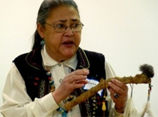 Presentation of American Indian Artifacts and Hist...